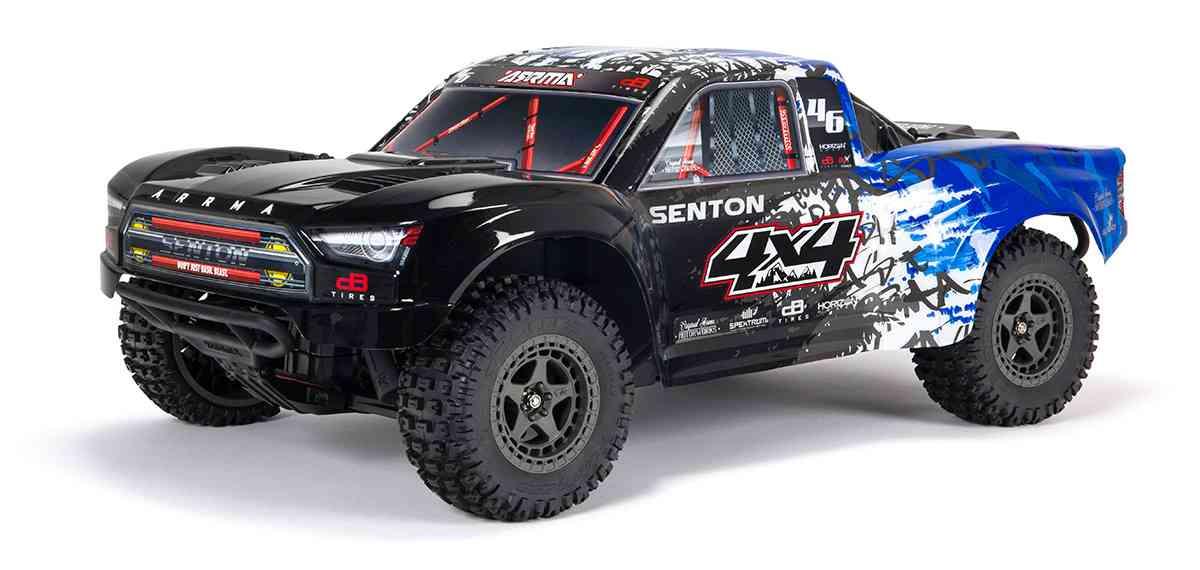 SENTON 4X4 3S BLX BRUSHLESS 1/10TH 4WD SHORT COURSE (BLUE)