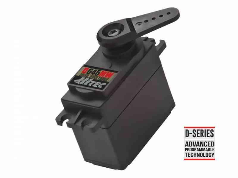 D645MW 32-Bit, High Torque, Metal Gear Servo