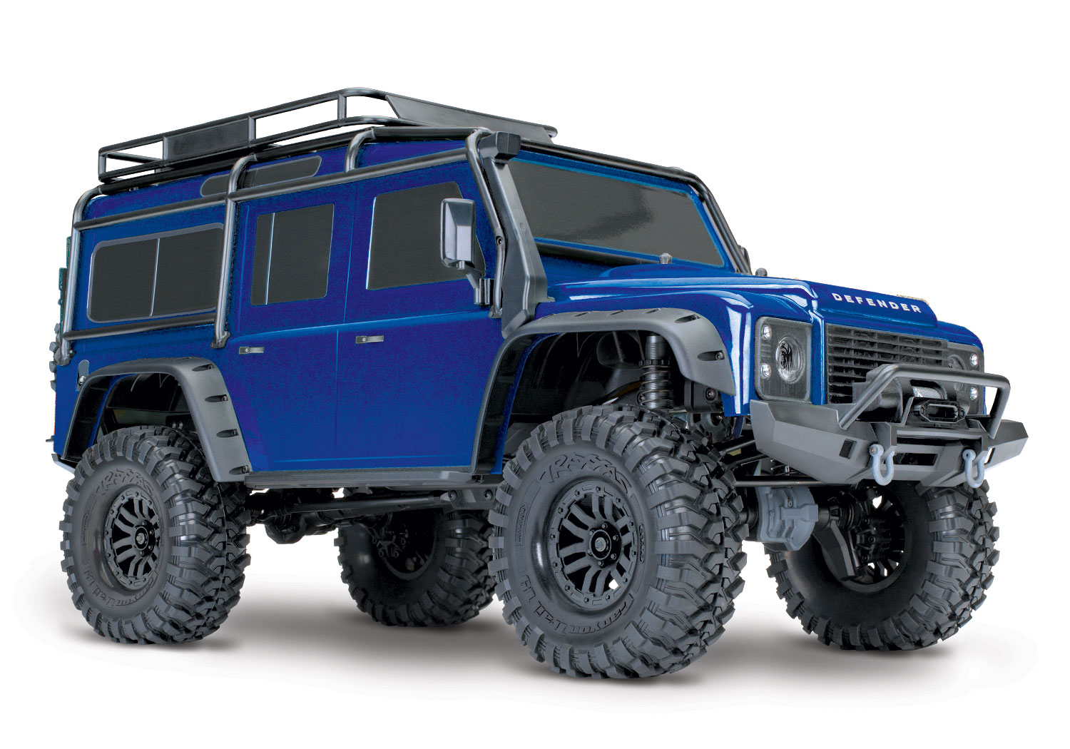 Traxxas 1/10 Scale TRX-4 Scale and Trail Crawler with 2.4GHz TQi Radio,