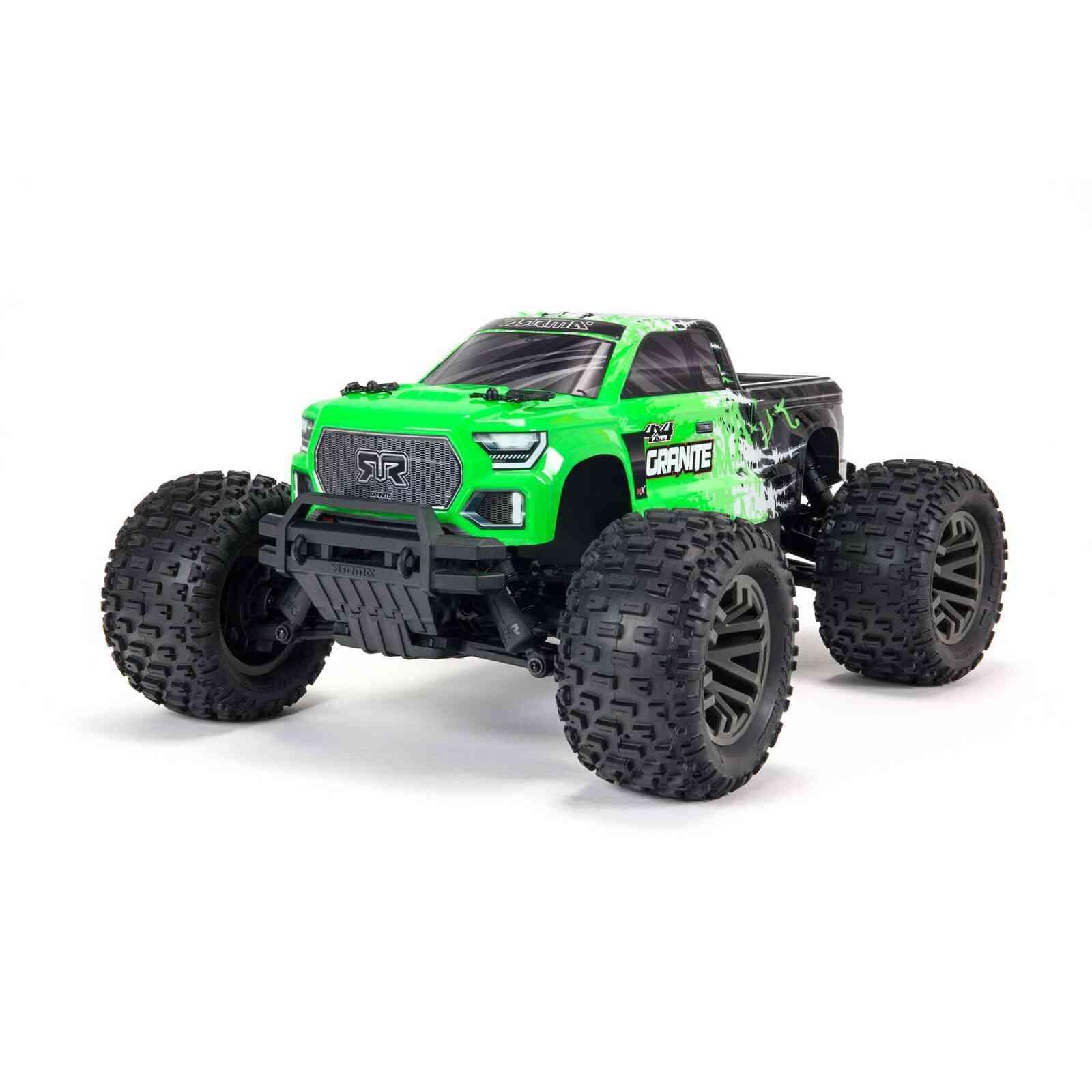 Arrma 1/10 GRANITE 4X4 V3 3S BLX Brushless Monster Truck RTR, Green