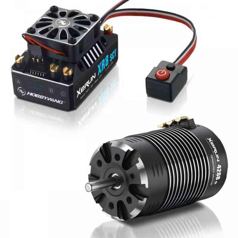 hobbywing-xerun-xr8-sct-brushless-esc--motor-4268sd-w--combo-set(2200kv)