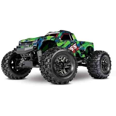 traxxas-hoss-4x4-vxl-3s-4wd-brushless-rtr-monster-truck-(green)-w-tqi-2.4ghz-radio,-tsm-system