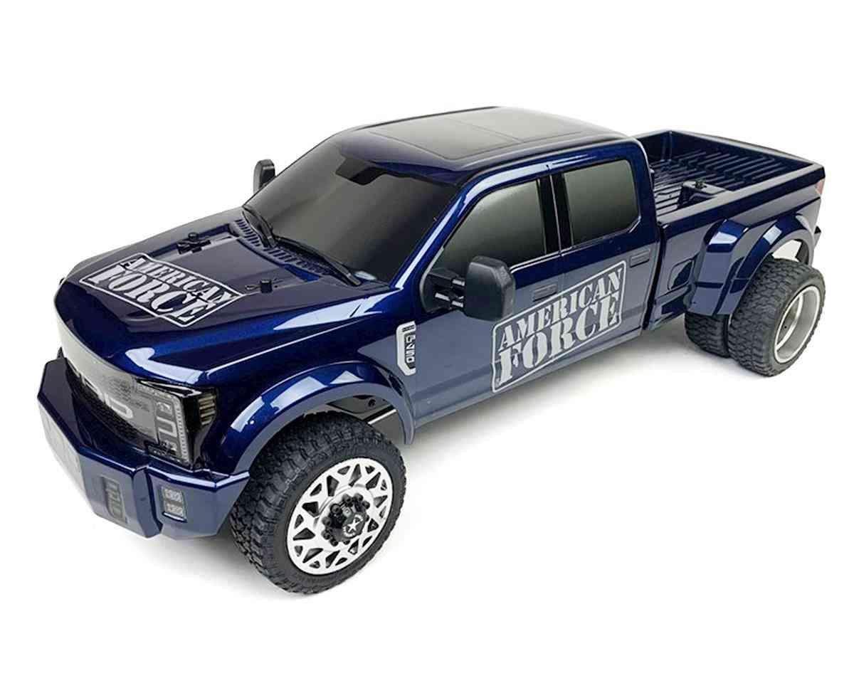 CEN Ford F450 SD 1/10 RTR Custom Truck (Galaxy Blue) w/2.4GHz Radio