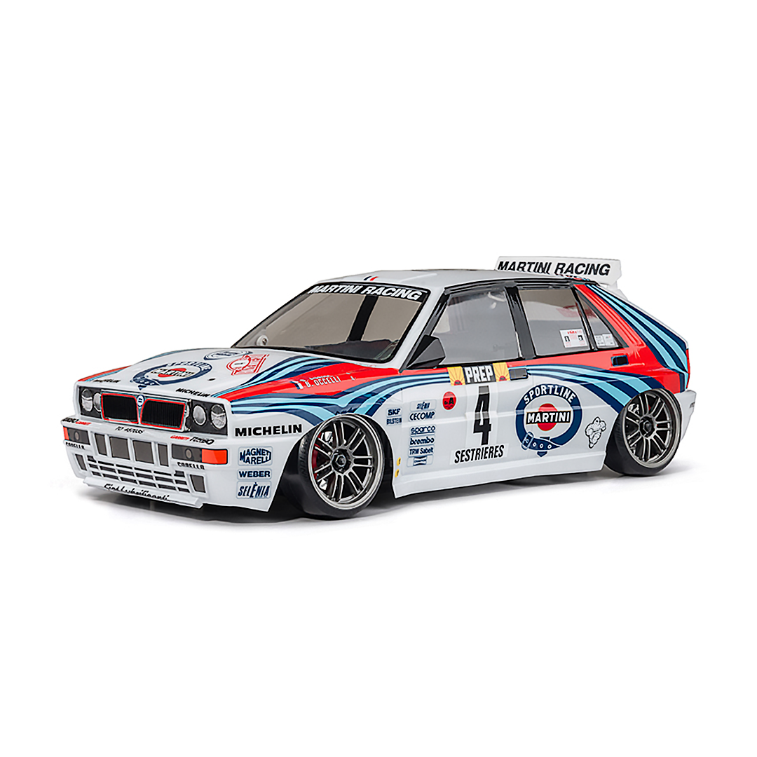 XXX-R RTR 1/10 Scale RC 4WD High Performance Racing Car (2.4G) LANCIA DELTA INTEGRALE