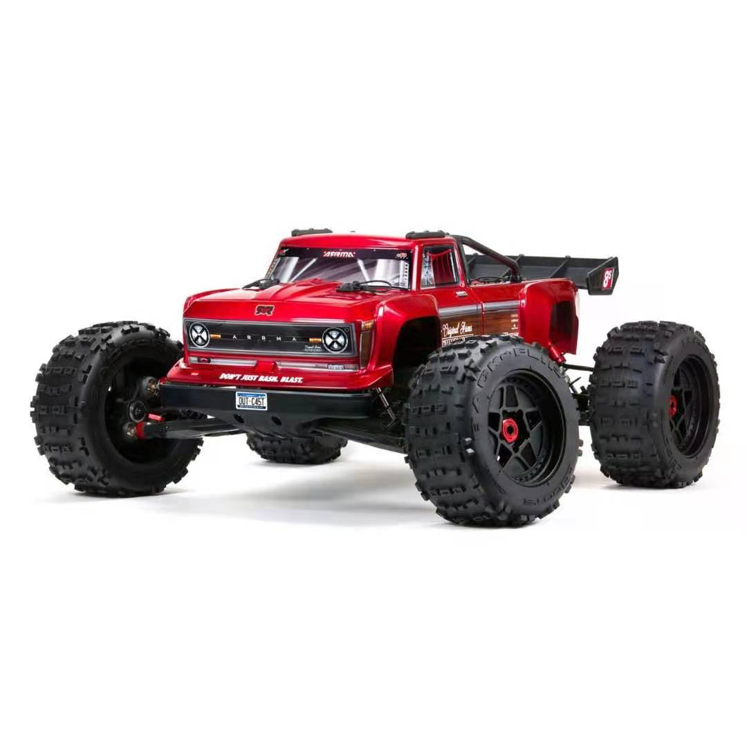 Arrma-Outcast-8S-BLX-Brushless-RTR-1/5-4WD-Stunt-Truck-(Red)-w/DX3-Radio-Smart-ESC