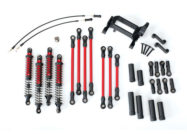 traxxas-trx-4-complete-long-arm-lift-kit-(red)